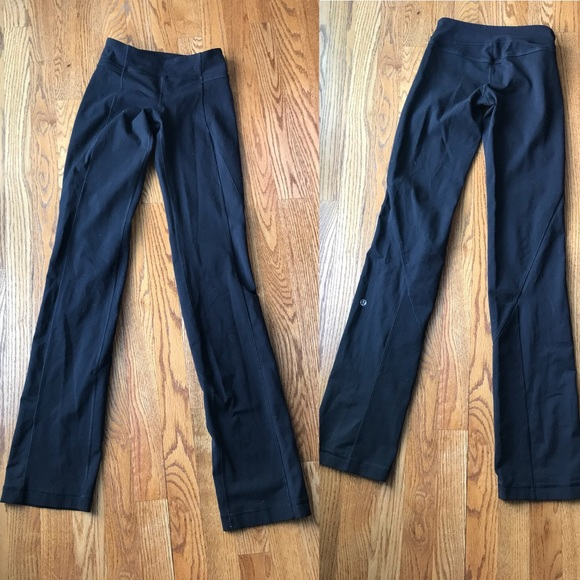 lululemon athletica Pants - Lululemon Black Flare Pants